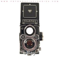 Rolleiflex 3,5 F Planar 80mm Last Version With Case And Strap Stunning! See
