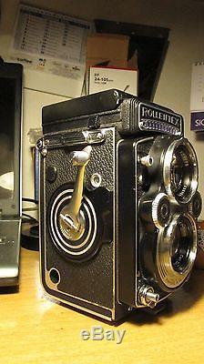 Rolleiflex 3,5 f con planar solo corpo