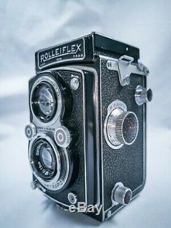 Rolleiflex Automat I + Tessar 75mm F3.5