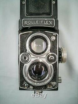 Rolleiflex Automat MX-EVS Type 2 + Tessar 75mm F3.5
