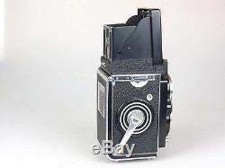 Rolleiflex Nr. 1783854 mit Zeiss Planar 3,5/75mm + Tasche Anl. Rolleiflash rb011