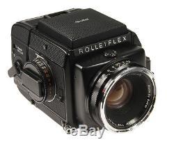 Rolleiflex SL66 E #004300010 mit Planar 2,8/80mm + Magazin 6x6 / 120
