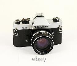 Rolleiflex SL 35 + Carl Zeiss Planar 1.8 /50 mm made in Germany numéro 4000971