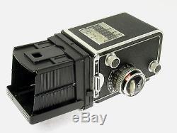 Rolleiflex T black mit Belichtungsmesser, ca. 1972, TOP
