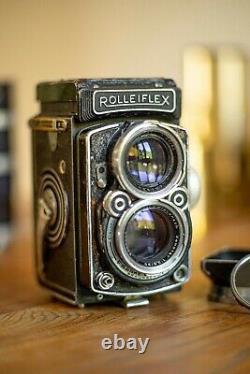 Rolleiflex Xenotar 2.8 Mamiya, Hasselblad