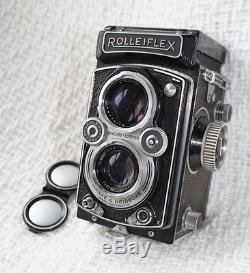 Rolleiflex twin lens 21/4 inch square camera