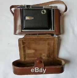 Royer Le Teleroy Ancien Appareil Photo A Soufflet Royer Le Teleroy 6x9 Étui Cuir