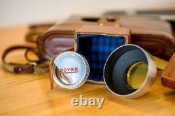 Royer Teleroy rangefinder Angénieux 100/3.5 lens