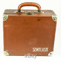 SEM Semflash 1958-1959 120 film dans sa valise d'origine