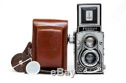SERVICED and TESTED Flexaret VI TLR Camera Czech Meopta Metax Belar 3.5/80 Exc++