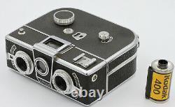 SIMDA Panorascope Objectif Roussel Paris 3,5/25 Pour film 16 mm France Vers 1950