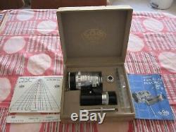 SOM BERTHIOT PAN CINOR OBJECTIF CAMERA 1 2.8 F = 12.5 à 36mm EN BOITE