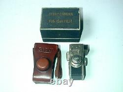 STEKY CAMERA nickel 16 mm made in Tokyo Japan with sac box notice photographie