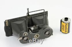STEROCO Contessa Nettel 45 x 107 mm Stuttgart Allemagne Vers 1920