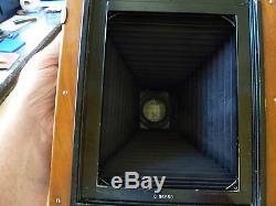 Seltene große ICA Tropenkamera 13x18cm Profigerät, tropical camera Holzkamera