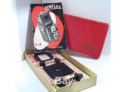 Semflex Studio 6X6 TLR medium format camera. RARE. Excellent condition