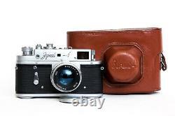Serviced 1974! KMZ Zorki 4 Russian USSR RF 35mm Camera JUPITER-8 50mm f/2 Lens