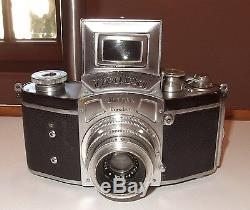 Spiegelreflexkamera Camera Ihagee Kine Exacta Exakta m. Victar Anastigmat 2,9/50