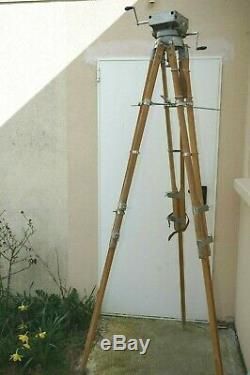 Trépied lourd pour camera Debrie Parvo, Super Parvo