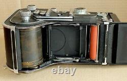 Tres Rare Rolleiflex Automat Dos Mecila Mag 150 Lachaize France Tbe