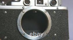 Très bel exemplaire FED 1 type F + FED Industar 10 objectif, f 3,5/5 cm + cap