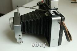 Très joli Polaroid 180, avec Tominon 114mm, f4,5