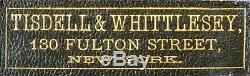 Très rare Tisdell & Wittelsey Detective, SPY CAMERA New-York 1886