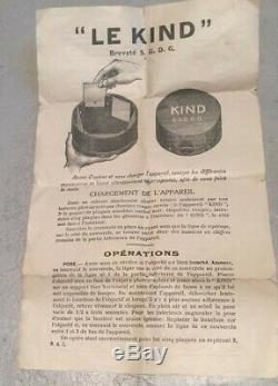 Très rare appareil photo jouet le Kind vers 1910
