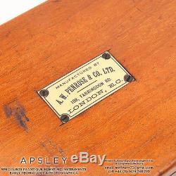 Unusual Spectroscope Camera By A. W. Penrose, London Brass Mahogany wooden