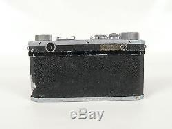 Very Rare Nikon Rangefinder Camera Made In Occupied Japan/nikkor-qc 13.5 Lens
