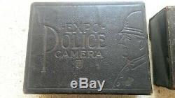 Very Rare Centenary EXPO POLICE Spy Camera in Box USA (1911-24)