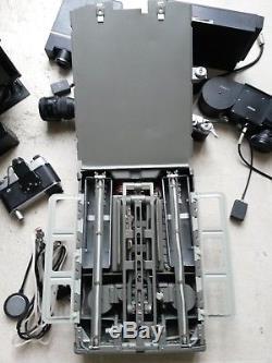 Very Rare Spy (Soviet KGB) Reprography/Document Camera Set NEPER Cold War