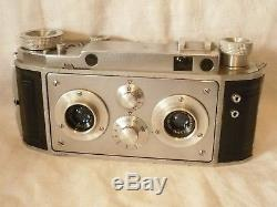 Very nice working JULES RICHARD VERASCOPE F40 French Camera + 3,5 f40Flor Lens