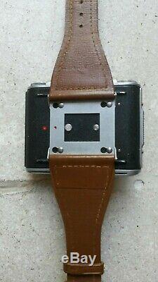 Very rare Spy TESSINA L camera for clandestine photography STASI Cold War
