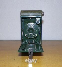 Vintage Ancien appareil photo kodak Girl Scout no boy 1929 /1934 à soufflets