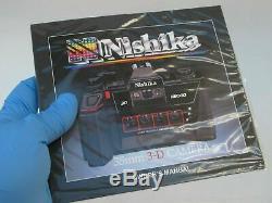 Vintage NISHIKA N8000 3D camera mint in box, quad lens