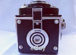 Vintage Rolleiflex Rollei 3.5F Metered TLR Camera Zeiss Planar 75mm Lens