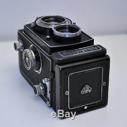 Vintage TLR Camera Rolleicord Vb Type II Schneider Xenar F3.5 7.5cm 120 6x6