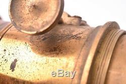 Vintage brass lens Orthopolygraphe avec obturateur. Bon état