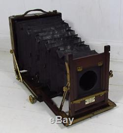 Vintage c1910 W. Watson & Sons Acme 1/2 Plate Field Camera