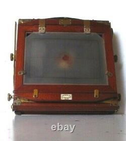 Vintage chambre photographique 1899 REYNOLDS & BRANSON 1/2 PLATE CAMERA KRYSTOS