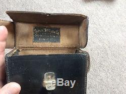 Vintage rare Blair Weno stereo camera, Rochester NY. Sands hunter box and case
