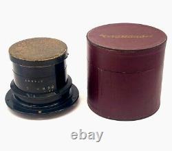 Voigtlander Heliar 4,5 / 30cm LIKE MINT barrel lens in his original box
