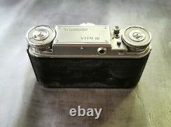 Voigtländer Vito III avec objectif ultron 2,8/50 Appareil photo 35 mm