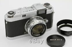 WALZ 35-S N°585662 Tokyo Japon Vers 1957 Obj Nitto Kogaku Kominar 1,9/4,8 cm