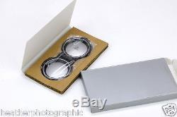 WC-RB2 Bay II Metal Lens Cap Replica for Rolleiflex 3.5 E2 E3 and F, Bay 2