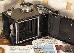 Working Rolleiflex T TLR for Standard 120 Film, Unmetered, Grey Trim, Nice Case