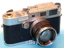 Yashica YF mit 1,8/50mm Yashinon M 39 Wechseloptik! Selten