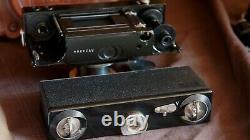 Zeiss CONTAX I(B)1933 +TESSAR 3,5/5 cm + Triotar 8,5+viseur Torpedo ZEISS+ étuis