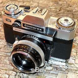 Zeiss Ikon Contarex Super mit Zeiss Planar 2,0/50mm -Schöne Erhaltung